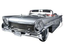 1958 LINCOLN CONTINENTAL MK III SILVER/GRAY 1/18 PLATINUM EDITION SUNSTAR 4706