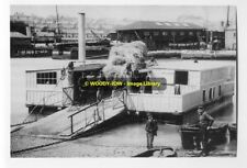 rp7746 - East Cowes Floating Bridge , Isle of Wight - photograph 6x4