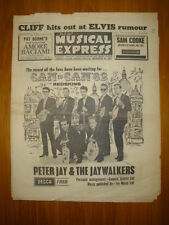 NME #825 1962 NOV 2 RED SKINS CLIFF ELVIS PRESLEY COOKE