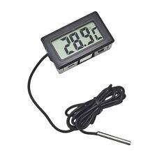 Digital LCD Thermometer Temperaturmesser für Kühlschrank -50~+ 110 mit 1m Kabel
