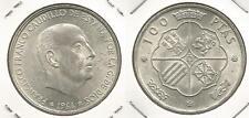 SPAGNA - 100 Pesetas 1966(66) argento
