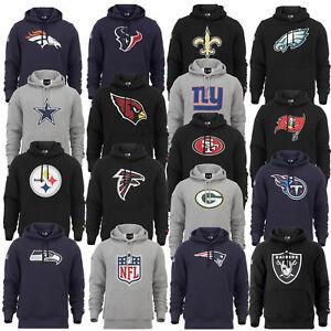 New Era Berretto NFL Hoody New England Patriots Packers Falcons Felpa Cappuccio