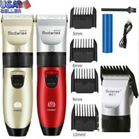 Electric Pro Cordless Clipper Trimmer Wireless Portable Hair Shavers Best