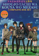 Girls Beyond the Wasteland Vol. 1-12 end Japanese Anime DVD Box set English Sub
