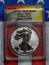 ANACS Certified Silver Bullion Coins