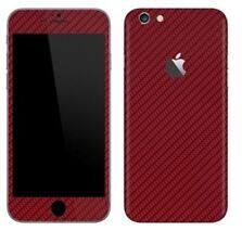 3D Textured Carbon New Skin Sticker Decal Vinyl Cover Wrap ALL Apple iPhone