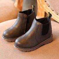 Winter Children Shoes PU Leather Snow Boots for Boys & Girls