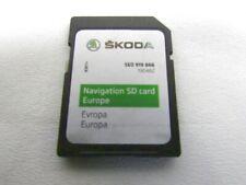 5E0919866 SCHEDA SD CARD MAPPE NAVIGATORE SATELLITARE SKODA OCTAVIA 2.0 110KW 5P