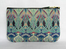 Make Up Bag Zip Purse Ipod Phone Case Art Nouveau Liberty London Ianthe Print
