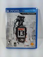 Unit 13 (Sony PlayStation PS Vita, 2012) Brand New