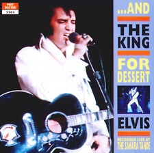 RARE CD IMPORT ELVIS PRESLEY- AND THE KING FOR DESSERT - SON PARFAIT-FORT BAXTER