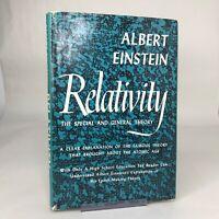 Albert Einstein RELATIVITY 1961 HC/DJ Vintage HTF