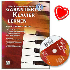 Garantiert Klavier lernen - Klavierschule mit CD - 20137G - 9783933136626