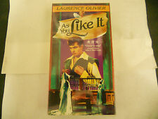 Laurence Olivier AS YOU LIKE IT VHS NEW