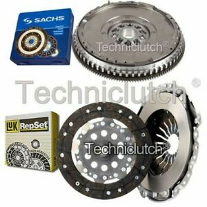 LUK 2 PART CLUTCH KIT AND SACHS DMF FOR VOLVO C70 COUPE 2.5