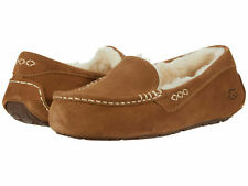 Women UGG Ansley Slipper 1106878 Chestnut II Suede 100% Authentic Brand New