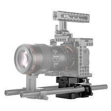 SmallRig Universal 15mm Rail Support System Baseplate with Arca QR plate 2092