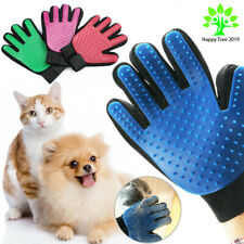 Pet Grooming Washing Glove Comb Bath Soft Tool Dogs Cats Fur Cleaning Supplies