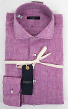Linen Patternless Long Sleeve Casual Shirts & Tops for Men