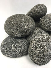 10 LBS SMOOTH TUMBLED LAVA STONES FOR GAS FIREPLACES/FIREPITS