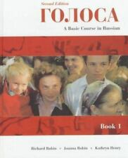 Golosa: A Basic Course in Russian, Book I (2nd Edition), Henry, Kathryn, Robin,