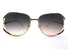 occhiali da sole Sandra Gruber vintage donna DORES  colore oro/multicolor/609