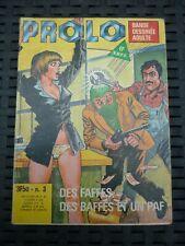 Prolo N°3: Des faffes, des baffes et un paf/ Editions Elvifrance, 1978