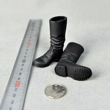 """1/6 Scale Germany Russia Army Solider High Boots F 12"""" Male Action Figures Black"""