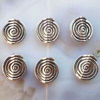 50pcs Tibetan Silver Charm Pendant Bead PJ062