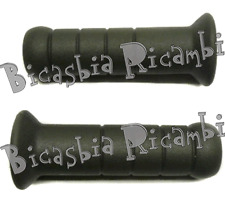 6071 - Paar Handgriffe Gummi Piaggio Si Fl - Fl2 - P-Bicasbia Cerignola