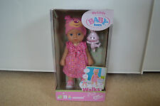 zapf creation baby born, my little walks doll,interactive doll,accessoeries