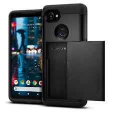 Spigen® Google Pixel 2 XL [Slim Armor CS] Dual Layer Wallet and Card Slot Case
