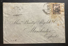 1902 Colombia Vintage Cover To Manchester England