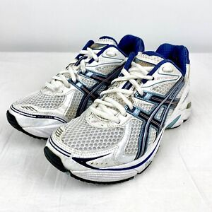Women's Asics GT-2140 Shoes White Blue Sneakers Running Shoe Size 7 T954N