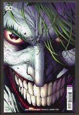 Justice League #8 (2018) ~ Jim Lee Joker Variant Cover ~ NM+