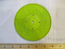 Fisher Price Record Player Vintage 995 Jack Jill Humpty Dumpty green 1 part toy