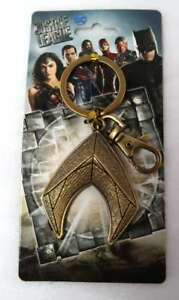Aquaman Excellent Keyring / Fob NEW DC Beauty Brass Tone Justice League
