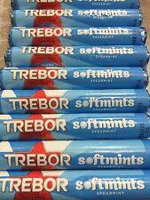 TREBOR SOFTMINTS SPEARMINT Box Of 40 Rolls B/bef 01/01/2019 Cheapest On Ebay