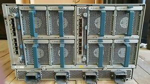 CISCO UCS 5108 Server Enclosure 8 X FANS 4 X PSU 2 x UCS 2208XP Modules Chasis
