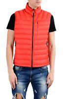 Bogner Men's Red Down Full Zip Waistcoat Vest Size S XL