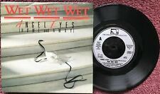 "New listing Wet Wet Wet – Angel Eyes (Home And Away) 7"" Vinyl Single JEWEL6 p/s"