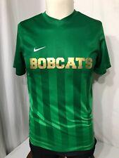 Men's Green Nike Soccer Shirt-Size S