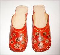 Leather jutti Women sandals Ladies clogs Online shoes Cheap mule Handmade flat