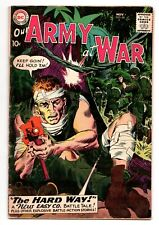 OUR ARMY AT WAR #88 (1952 Series) Sgt Rock Russ Heath Art Nov 1959 VG