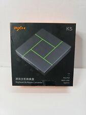 PXN-K5 Gaming Keyboard & Mouse Adapter USB Game Controller Converter