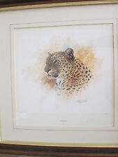 "Tony Forrest signed Limited Edition Print ""Leopard"""