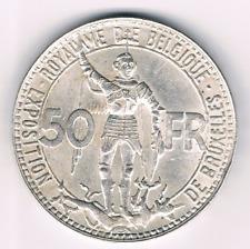 50 Fr 1935fr  Leopold III   Belgium/Belgie/Belgique    Morrin 442b  UNC-FDC