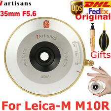 7Artisans 35mm F5.6 Full Frame Wide-Angle Lens F Leica M Mount Mirrorless Camera