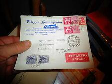 Ancienne enveloppe Lettre timbrée Italie Espresso Concession MOTOSTANDARD