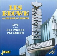 LES BROWN - LIVE AT THE HOLLYWOOD PALLADIUM 2 CD NEW+